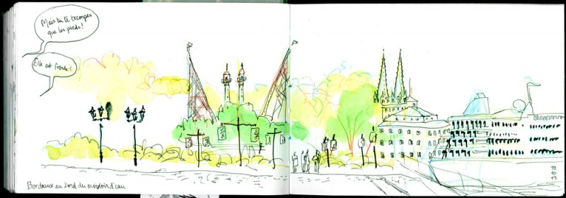 Sketchcrawl Bordeaux octobre 2013