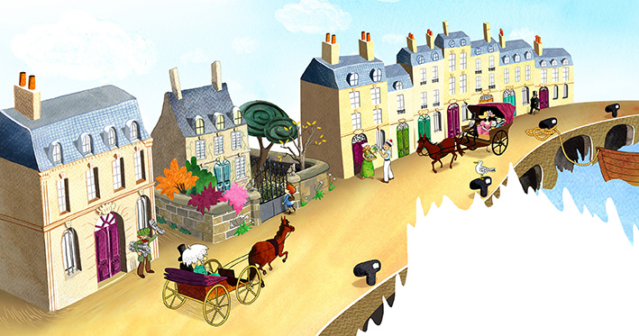 Julie Bulle illustration Bordeaux