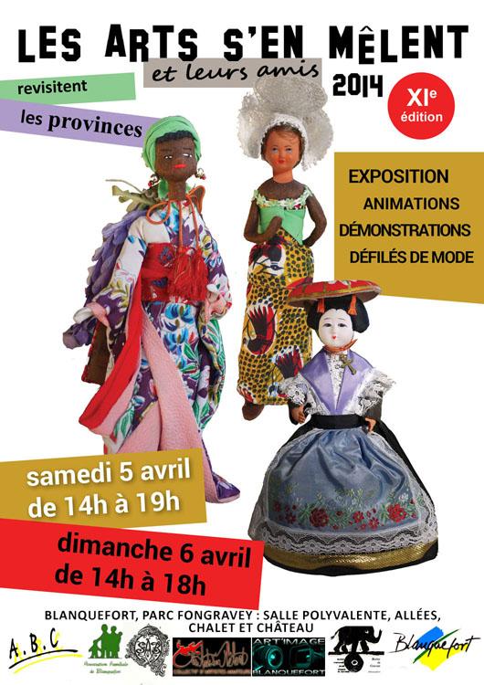 Exposition, défilé de mode, démonstrations, ateliers