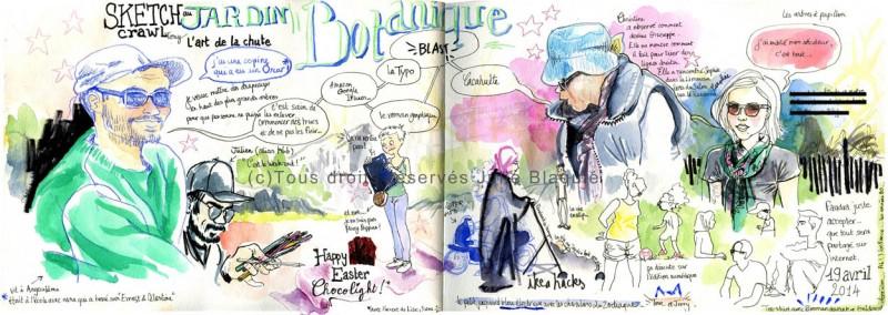 jardin botanique julie blaquie Bordeaux