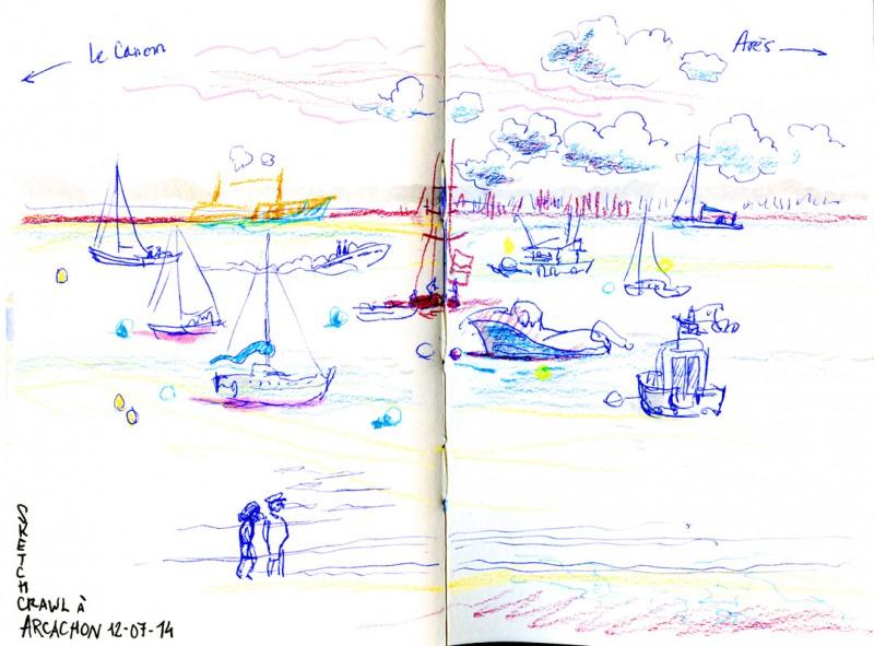 Bordeaux sketchcrawl