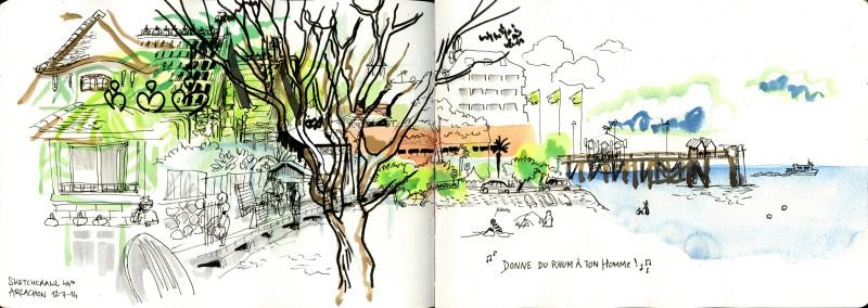 illustration Bordeaux Julie Blaquié