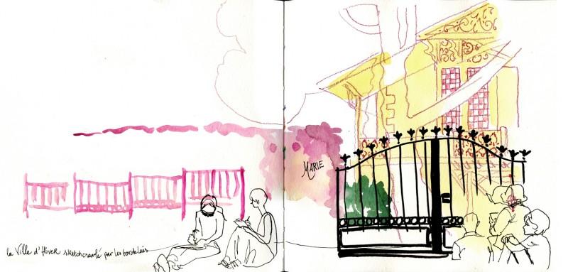 Sketchcrawl Bordeaux