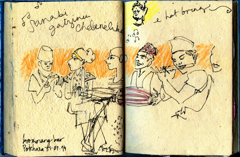 Julie Blaquié illustration Bordeaux