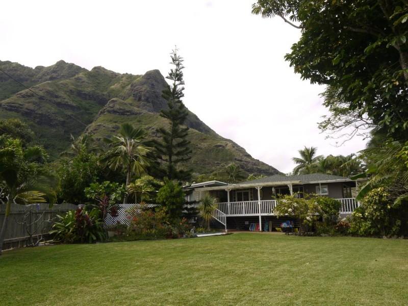Rue Ha'aha'a, à Kaaawa, Oahu, Hawaii