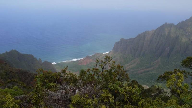 Côte de Napali, vue de Kalalau