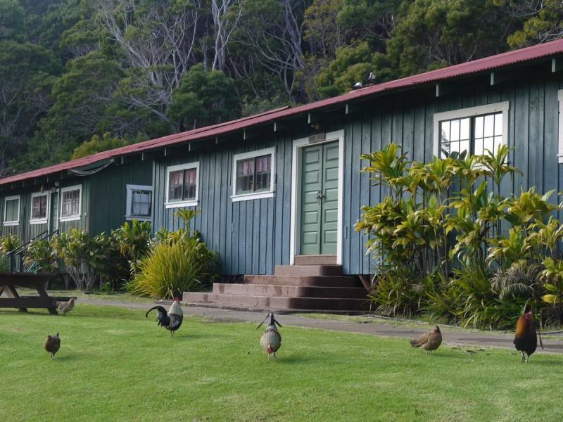 Construit dans les années 30 pour héberger des jeunes travailleurs, le CCC Camp a été restauré et sert de logement pour les randonneurs et l'asso de Katie Cassel.