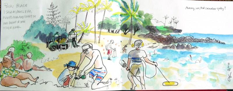 Carnet de voyage Hawaii
