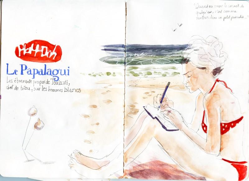 julie blaquié illustration Bordeaux 2015