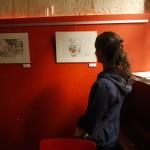 julie blaquié illustration bordeaux, projet Saint Michel, la Spirale