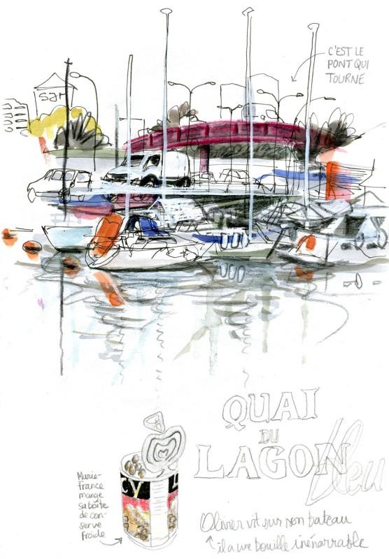Sketchcrawl Julie Blaquié Bordeaux