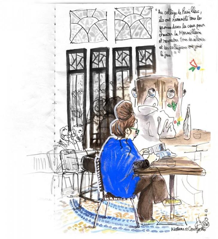 Atelier Carnet de Voyage Julie Blaquié
