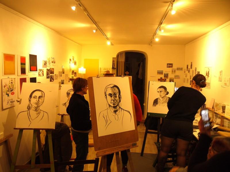 atelier dessin portrait bordeaux