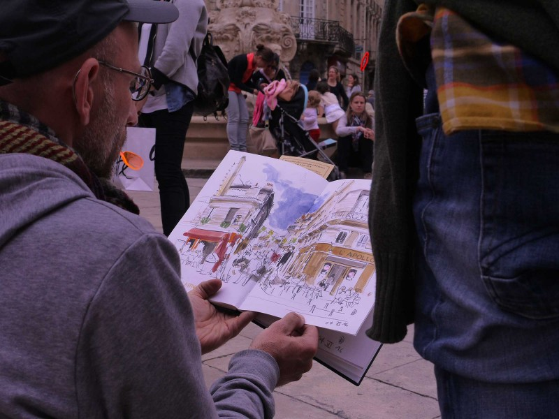 urban sketchers bordeaux 2016