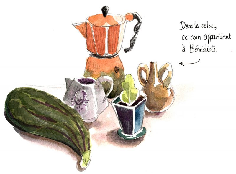 la grosse situation, Julie Blaquié illustration Bordeaux, Caroline Cochet