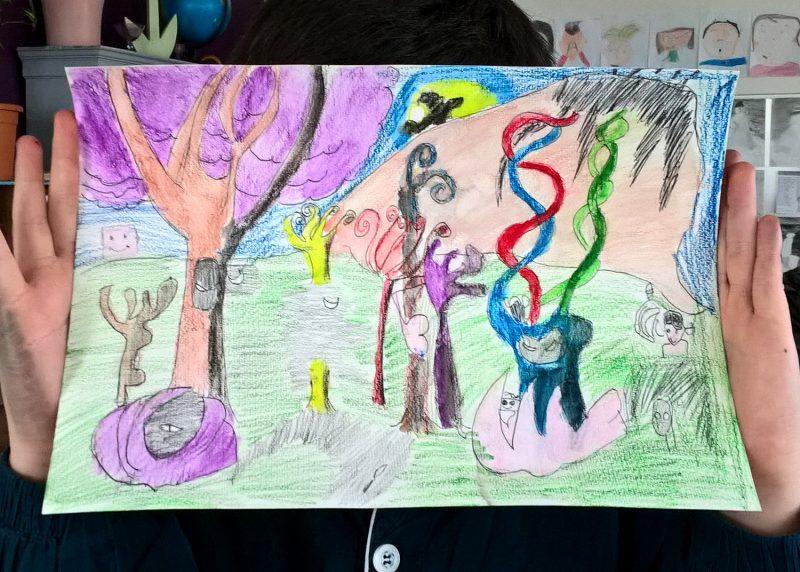 atelier dessin enfants Bordeaux