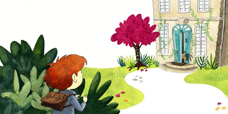 L'Ogre de Bordeaux, Lilly Jeunesse, Julie Bulle illustration