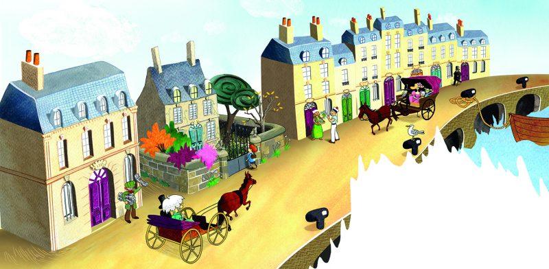 L'Ogre de Bordeaux, Lilly Jeunesse, Julie Bulle illustration