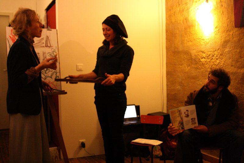 illustration Bordeaux, Julie Blaquié, dessin, atelier, animation, conte, Ogre de Bordeaux, Lilly Jeunesse, Marie Le Rouge, pâtisserie, canelé