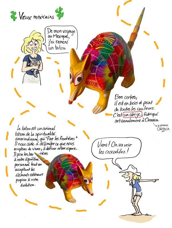 illustration Bordeaux, BD Bordeaux, roman graphique Bordeaux, roman graphique Mexique, roman graphique crocodile
