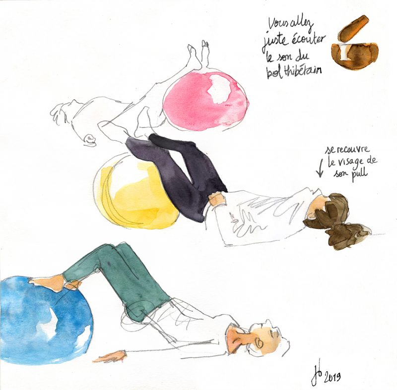 Illustration bordeaux, Elles St Jean, Julie Blaquié, Daniela Pasinetti, pilates bordeaux
